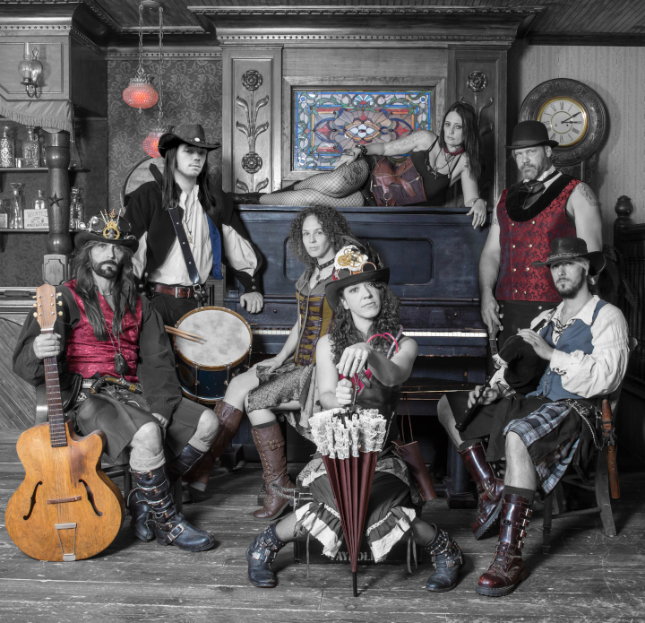 Tuatha Dea band photo